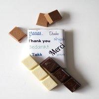 Nieuwe wikkels voor de chocolade