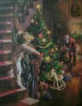Kerstman en kind