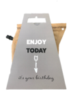 Koffie, enjoy today, it's your birthday