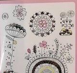 Stickerboekje om zelf in te kleuren