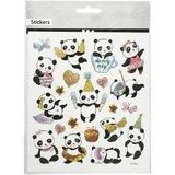 Stickervel panda