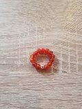 Dames ring met natuursteen Carneol
