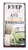 Magneet Keep Calm and Drive Through_