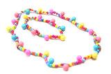Kinderketting en armband met vrolijke bolletjes_
