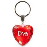 Sleutelhanger Diva_