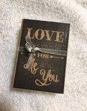 Love was made for me and you(doosje zeepjes)_