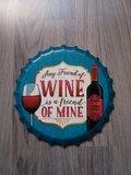 Onderzetter pan Wine