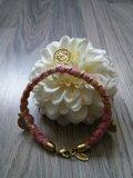 Armband met muntjes (roze)