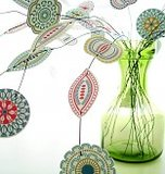 Blom, paper flowers