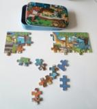 Puzzel dinosaurussen