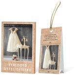 Verloofd, gefeliciteerd geurtasje