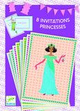 Djeco  Uitnodigingen prinsessen_