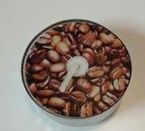 Waxine, koffieboontjes