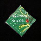 Kaartje, succes, veel geluk