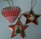 Kersthangers, metaal