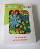 Puzzel van hout