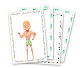 Djeco stickers en Poppetjes van papier (Ridders)_
