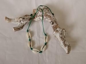 Schelpen enkelbandje (groen)