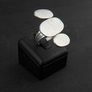Ring, verzilverd