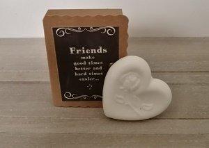 Soap in a box, Friends