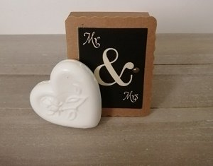 Soap in a box, mr & mrs