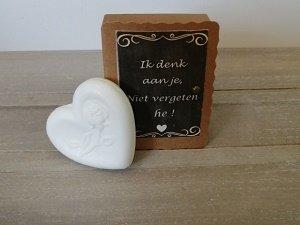Soap in a box, Ik denk aan je, niet vergeten he!