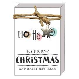 ho ho ho merry christmas (zeepjes)