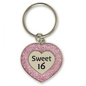Sleutelhanger, sweet 16