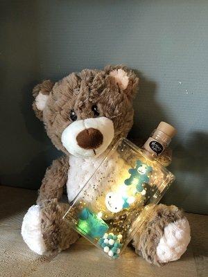 Sfeerlampjes in een fles