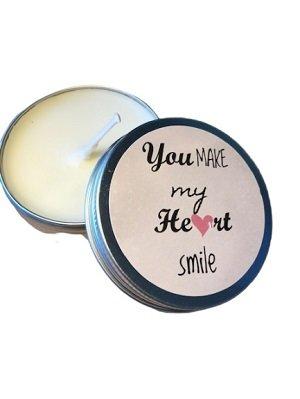 Kaars, You make my he♥rt smile