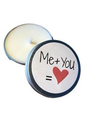 Kaars, Me+You=♥