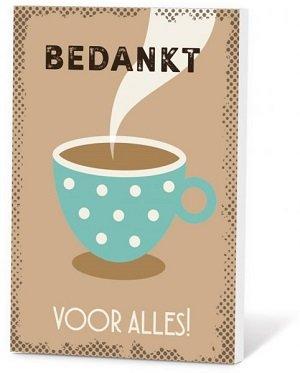 Bedankt (Koffie in een kaartje)