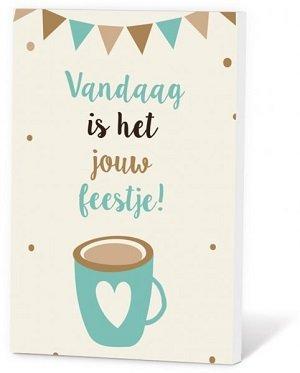 Jouw feestje (Koffie in een kaartje)