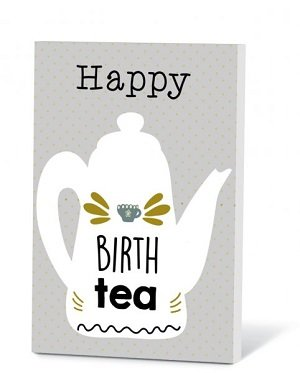 Happy Birthtea (Thee in een kaartje)