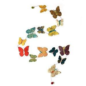 Slinger met vlinders