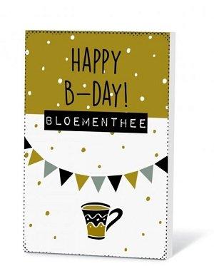 Happy B-day! (thee met kaartje)
