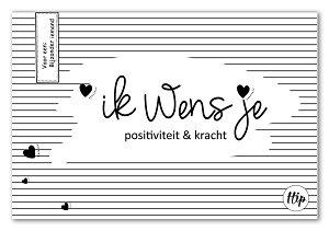 Ik wens je positiviteit & kracht  (geurzakje)