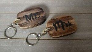 Mr & mrs sleutelhangers
