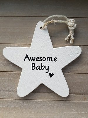 Awesome baby ster hout