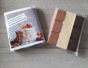 Chocolade, van harte gefeliciteerd!
