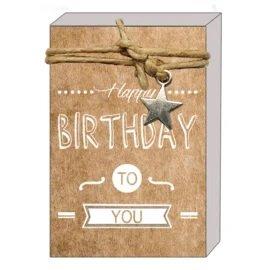 Happy birthday to you (zeepjes)