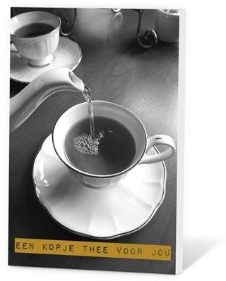 Een kopje thee voor jou (Thee in een kaartje)