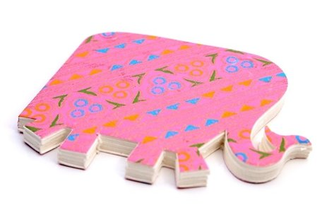 Notitieboekje Olifant (roze)