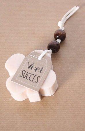 Zeep, veel succes