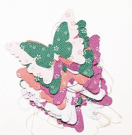 Vlinder slinger (pastel)