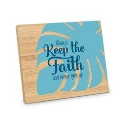Bordje, always keep the faith and never give up