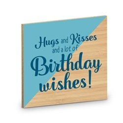 Onderzetter, hugs and kisses and a lot of birthday wishes!