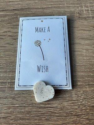 Geurkaart, make a wish
