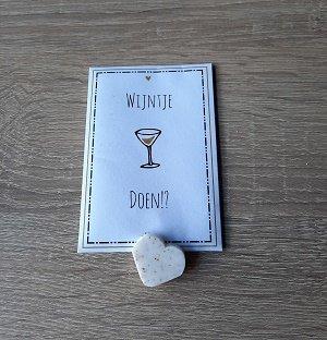 Mini geurzakje, wijntje doen?