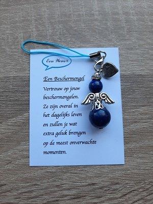 Beschermengel van natuursteen (Lapis Lazuli)